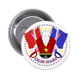 Color Guard Badge Button
