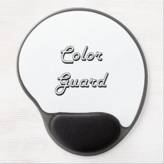 Color Guard Classic Retro Design Gel Mouse Pad