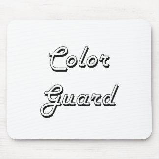 Color Guard Classic Retro Design Mouse Pad
