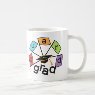 Color Guard Graduate - Graduation Colorful Flags Coffee Mug