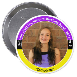 Color Guard HS (2018) 4 Inch Round Button