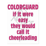 Color Guard: If It Were Easy... Post Cards