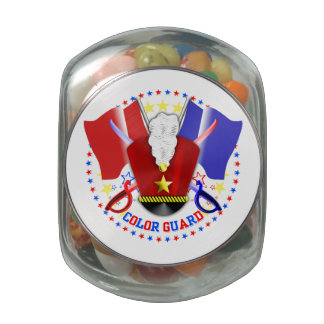 Color Guard Jelly Belly Candy Jar