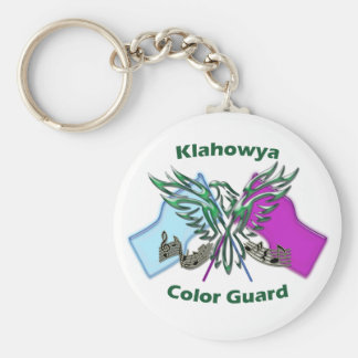 Color Guard Keychain