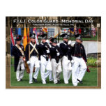 Color Guard - Memorial Day Postcards