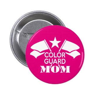 Color Guard Mom Button