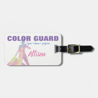 Color Guard Spin Dance Perform Flag | Luggage Tag