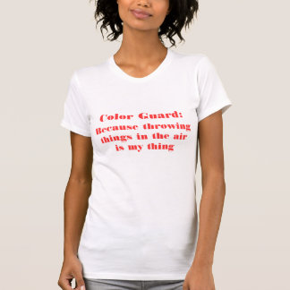 Color Guard Shirt