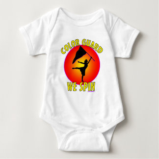 Color Guard... We Spin Baby Bodysuit