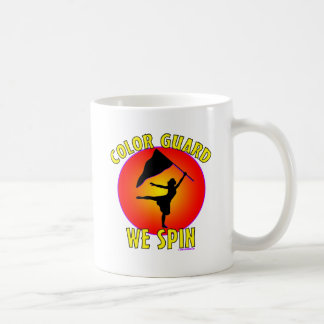 Color Guard... We Spin Coffee Mug