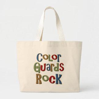 Color Guards Rock Jumbo Tote Bag