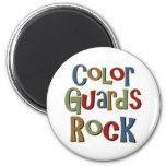 Color Guards Rock Fridge Magnets