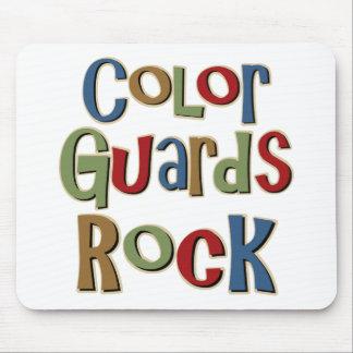 Color Guards Rock Mouse Pad