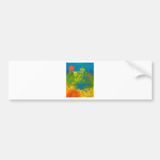 Color Happy by Piliero Bumper Sticker