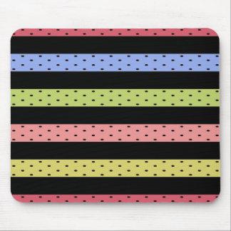 Color-Happy_Stripes(c) Multi_Colored_ Mouse Pad