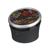 Color Harmony Abstract Art Bluetooth Speaker
