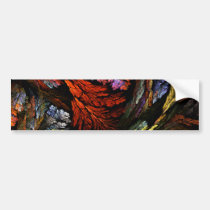 color, harmony, abstract, art, bumper, sticker, Bumper Sticker with custom graphic design
