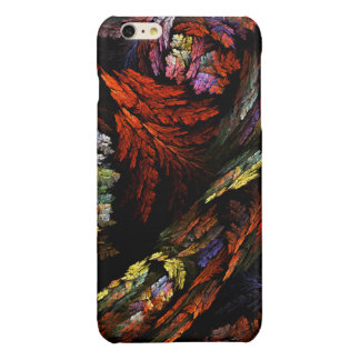 Color Harmony Abstract Art Glossy iPhone 6 Plus Case