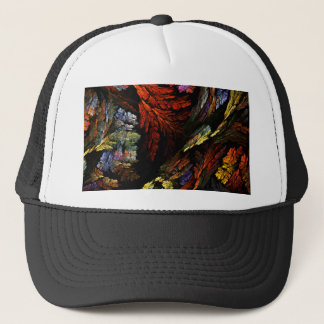 Color Harmony Abstract Art Hat