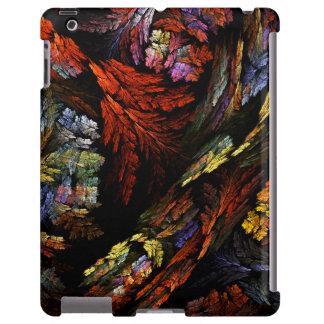 Color Harmony Abstract Art iPad Case