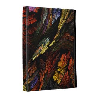 Color Harmony Abstract Art iPad Folio Cases