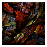Color Harmony Abstract Art Print