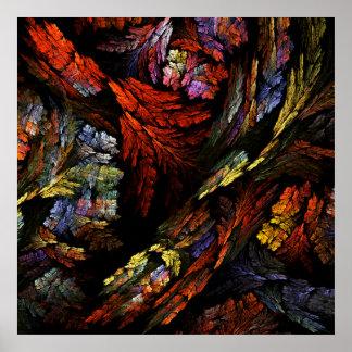 Color Harmony Abstract Art Print