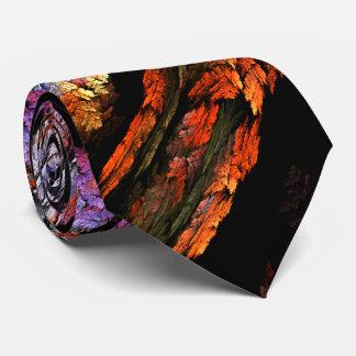 Color Harmony Abstract Art Tie