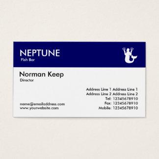 Color Header - Dark Blue - Neptune Business Card