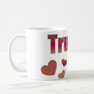 Color Hearts: True Love Mug mug