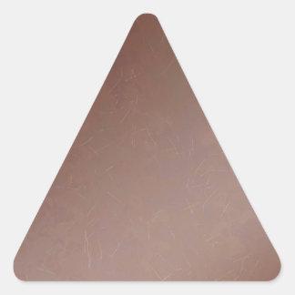 Color hecho a mano de cobre la Florida del Pegatina Triangular