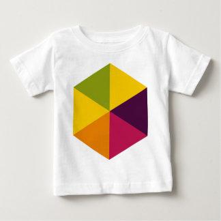 Color Hexagon 01 Baby T-Shirt