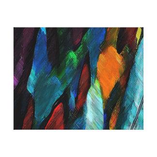 "Color Hugs ~ 11x14"" Wrapped Canvas Canvas Print"