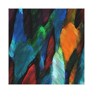 "Color Hugs ~ 12x12"" Wrapped Canvas Canvas Print"