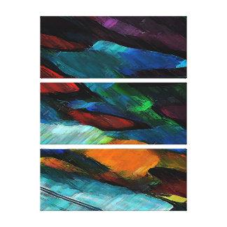 "Color Hugs ~ 24x18"" Wrapped Canvas Canvas Print"