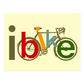 color I bike Postcards