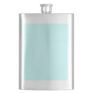 color ice blue flask