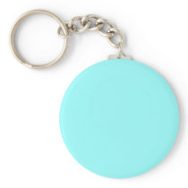 color ice blue keychain
