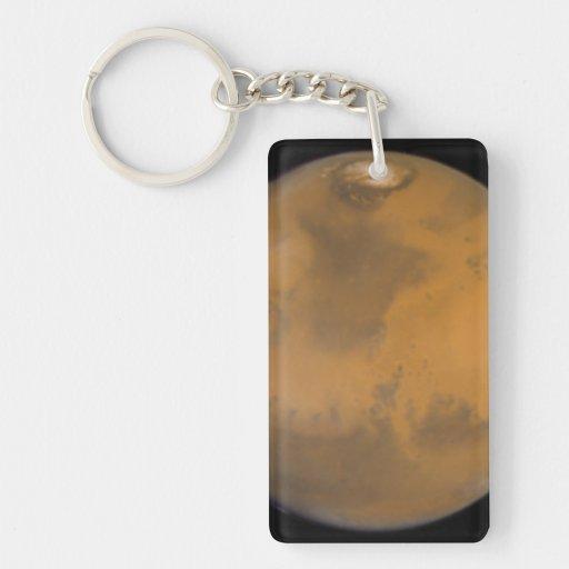 Color Image of Mars Acrylic Keychain