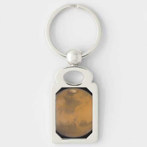 Color Image of Mars Keychains
