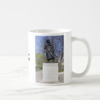 Color image of Statue of Winston Churchill Mug