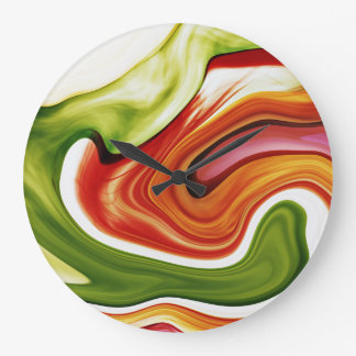 color in motion #1 Wanduhr Large Clock