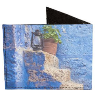Color in the wall, Arequipa, Peru, Billfold Wallet