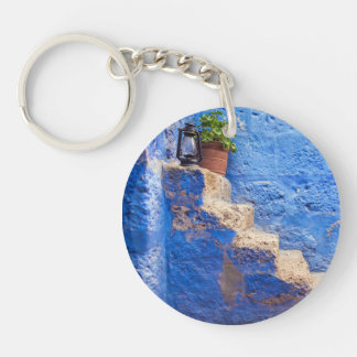 Color in the wall, Arequipa, Peru, Keychain
