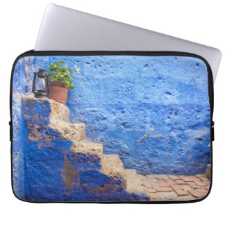 Color in the wall, Arequipa, Peru, Laptop Sleeves