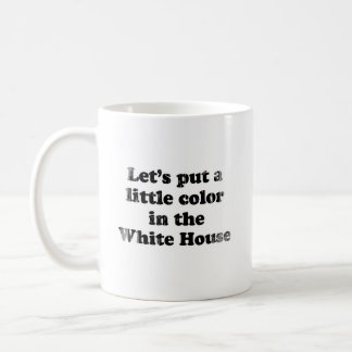 Color in the white house Faded png Coffee Mugs