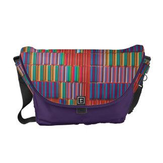 Color intensity courier bag