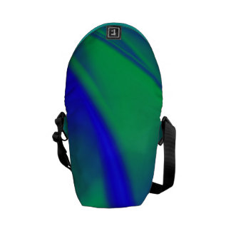 Color inusual combinado bolsa messenger