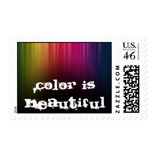 Color is Beautiful Postage