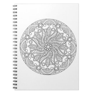 Color It Madala Notebook